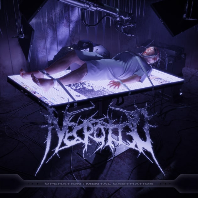 Necrotted - Operation: Mental Castration (Albumcover)