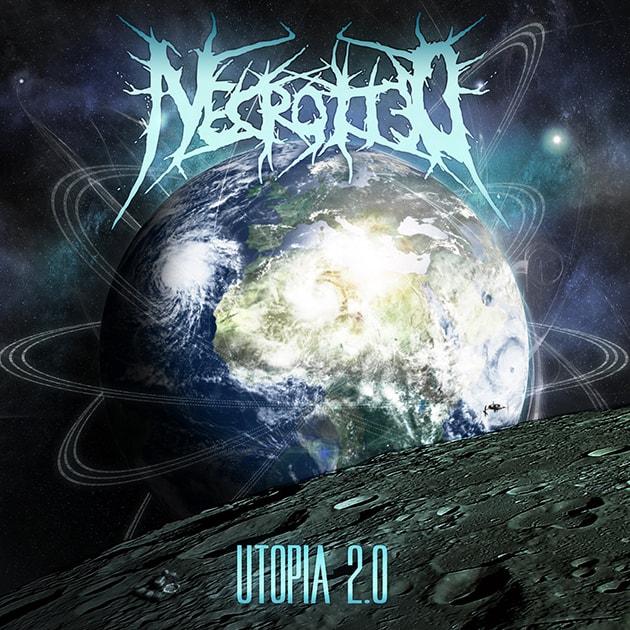 Necrotted - Utopia 2.0 (Albumcover)